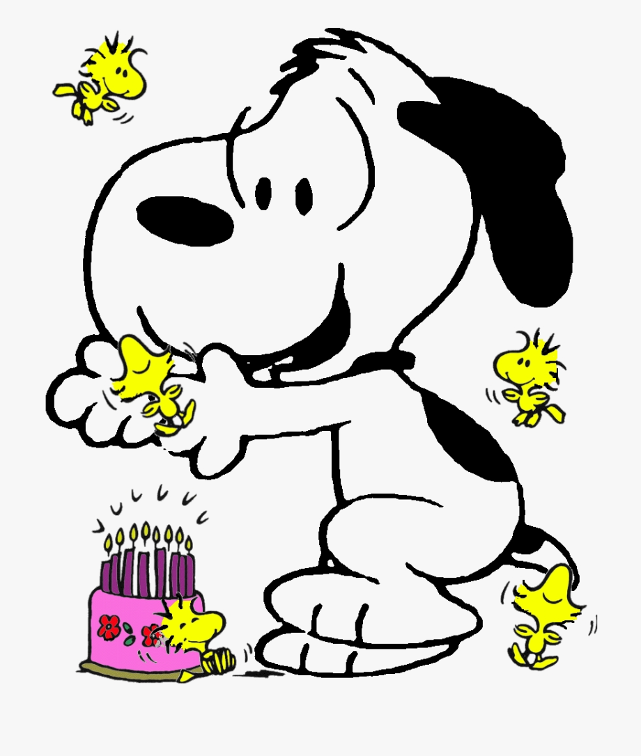 Snoopy Birthday Clipart.
