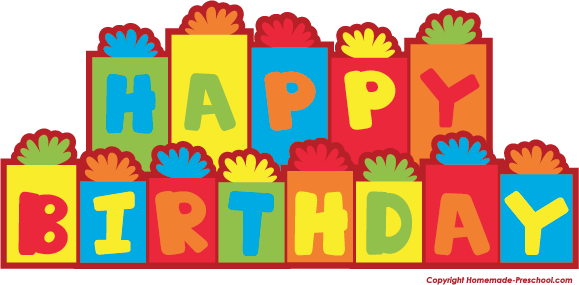 Happy birthday clipart - Clipground