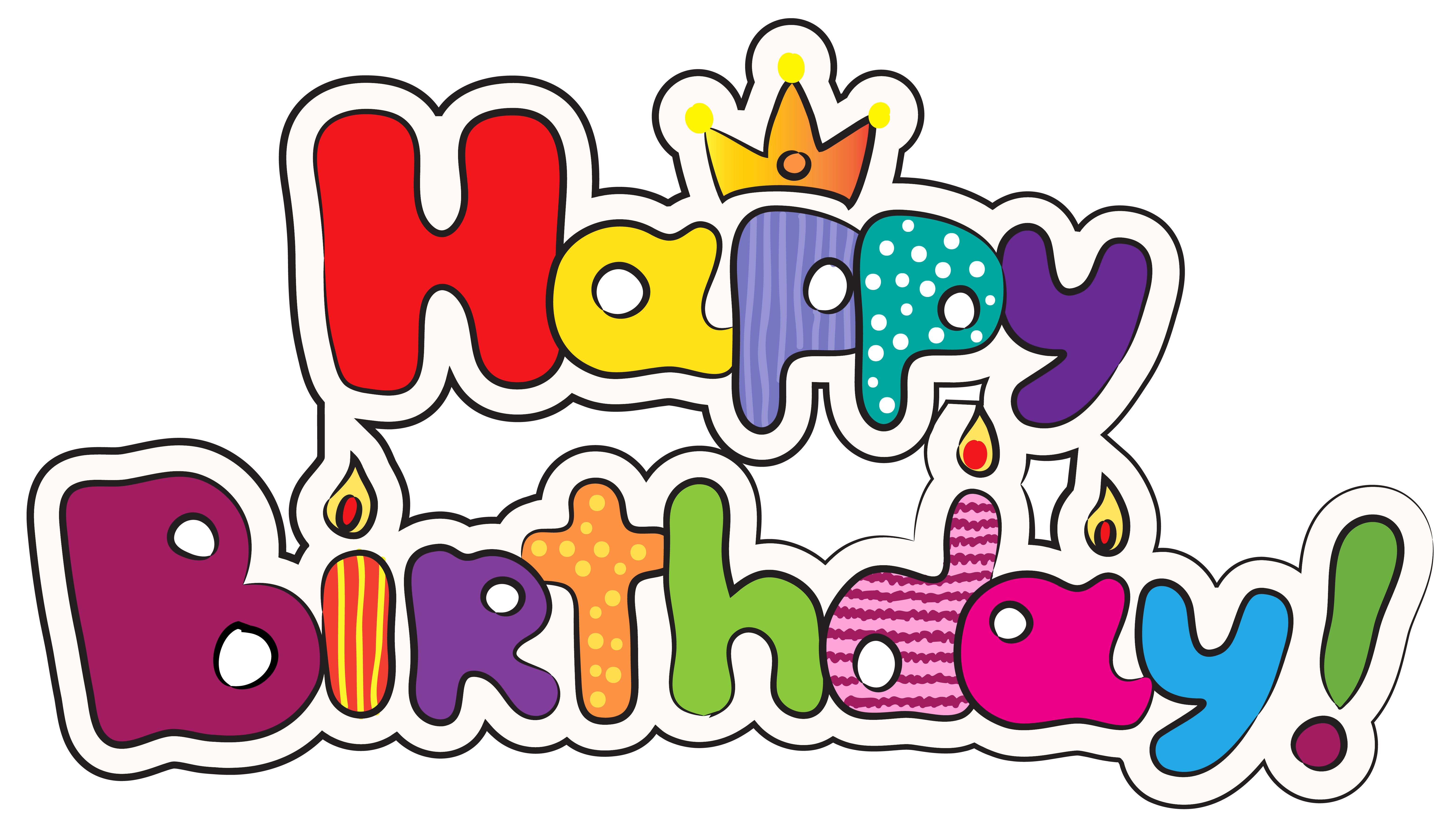 Clipart Of Happy Birthday & Of Happy Birthday Clip Art Images.