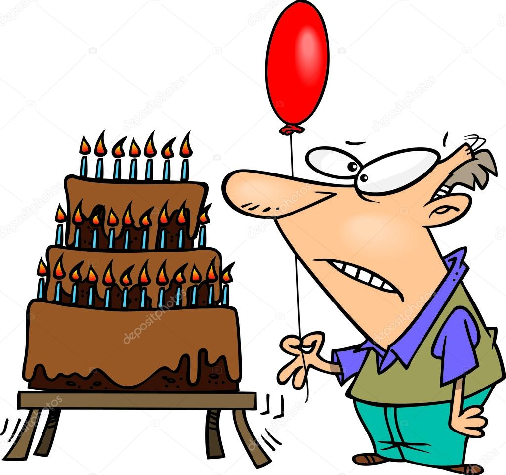 Happy Birthday Clipart For A Man
