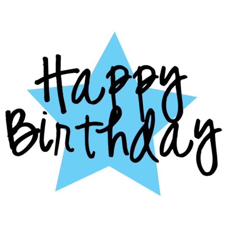 happy birthday clipart for a man - Clipground