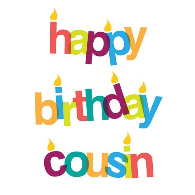 102+ Happy Birthday Cousin Clipart.