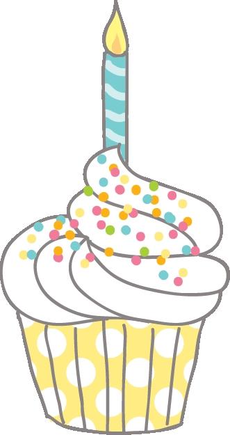 Birthday Cupcake Clipart happy birthday cupcake clipart.