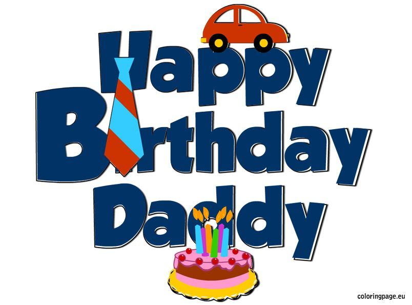 Happy birthday dad clipart 9 » Clipart Portal.