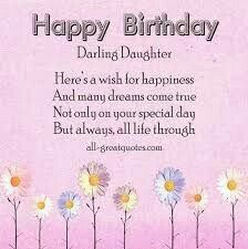 Happy birthday daughter clipart free 4 » Clipart Station.
