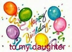 Happy birthday daughter clipart free 5 » Clipart Portal.