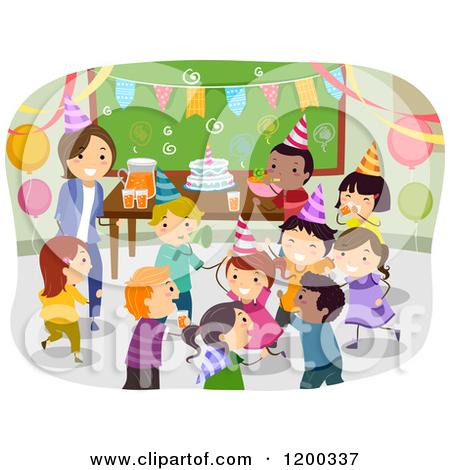 Happy Birthday Teacher Clipart.