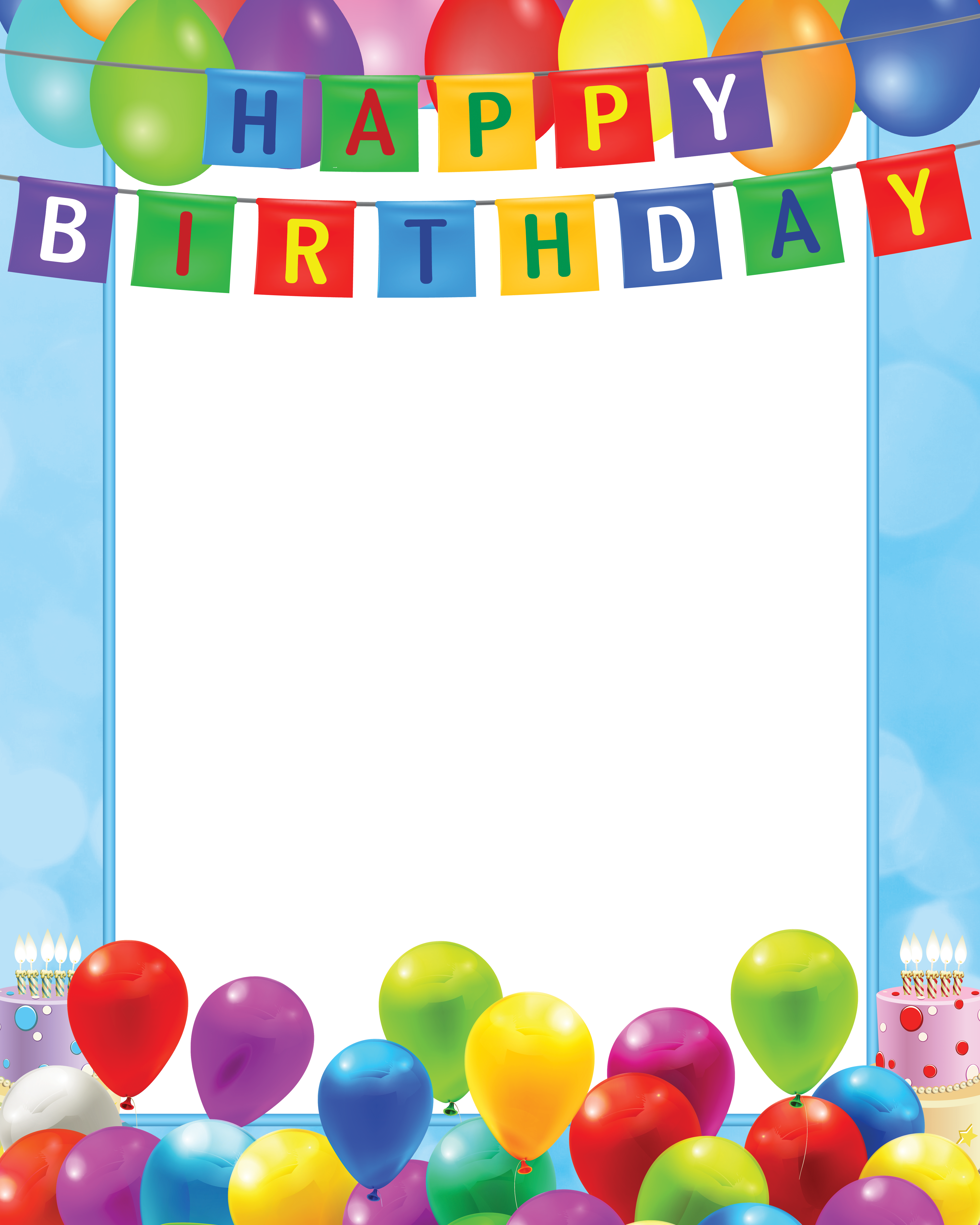 happy birthday frame clipart 20 free Cliparts | Download