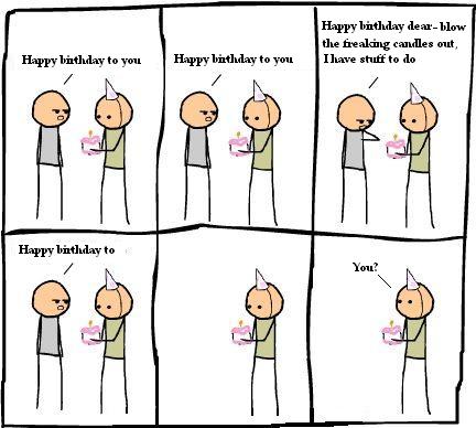 Happy Birthday Clipart Funny.
