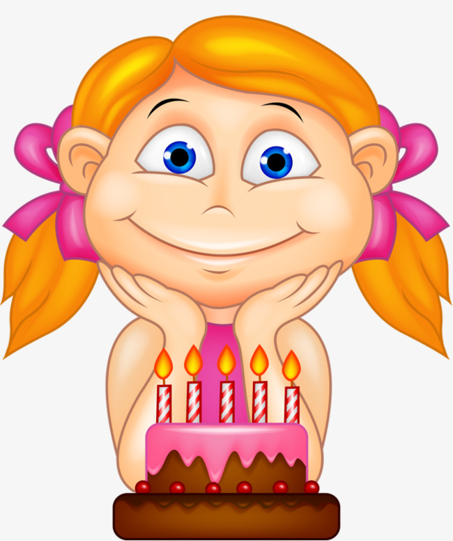Birthday Girl Clipart Png.
