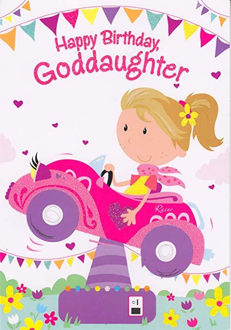 Happy Birthday Goddaughter.