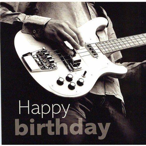 Happy Birthday Guitar Clipart.