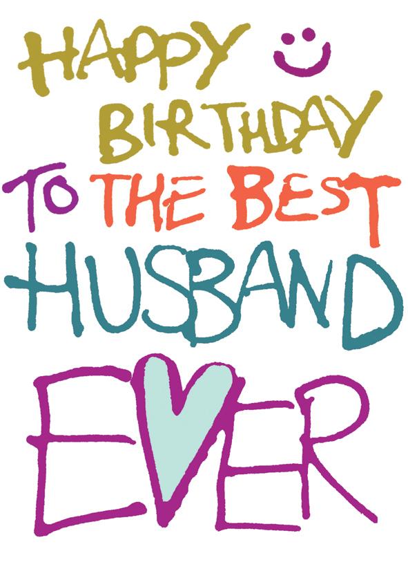 54 Free Happy Birthday Husband Images.