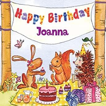 Happy Birthday Joanna by The Birthday Bunch on Amazon Music.