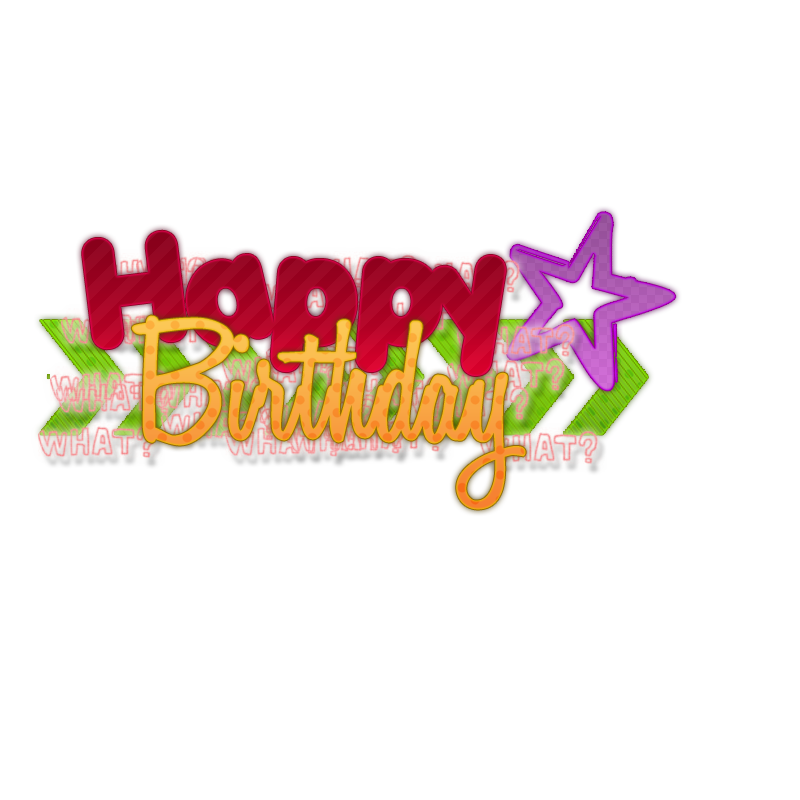 Clipart library: More Like Happy birthday texto png pedido.