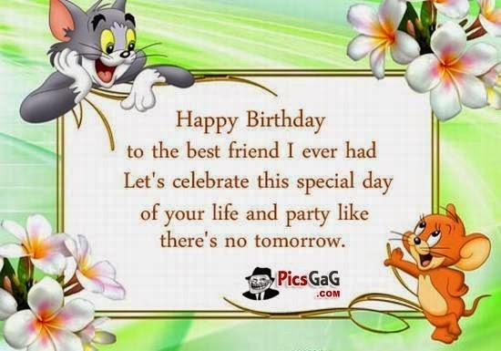 happy birthday male friend clipart