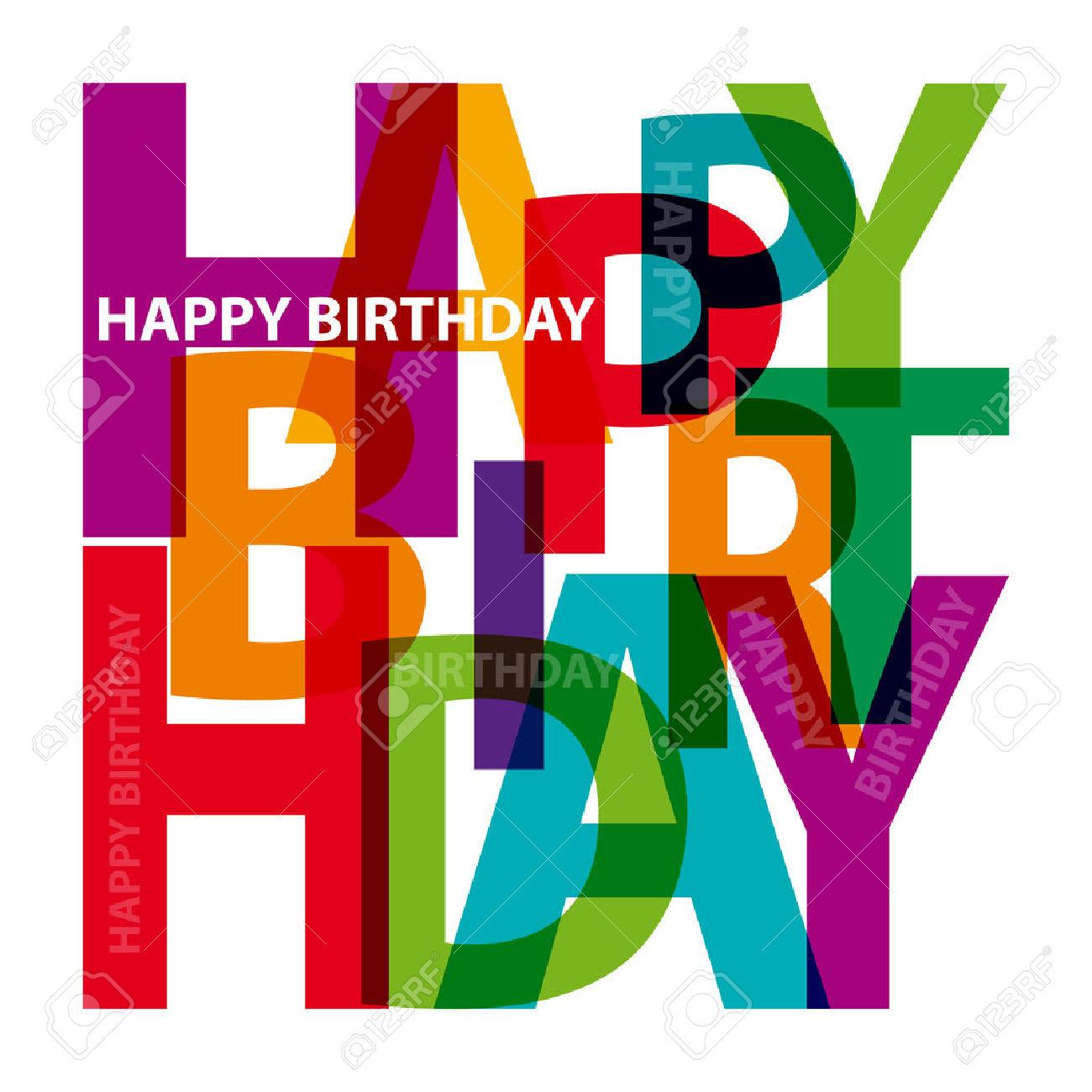 Happy Birthday Masculine Clipart
