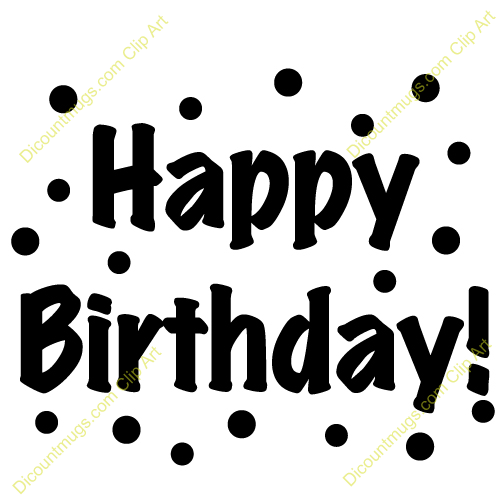 Gallery For > Masculine Happy Birthday Clipart.