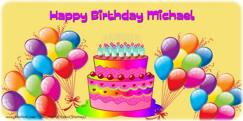 Happy Birthday Michael : Ukrobstep.com.