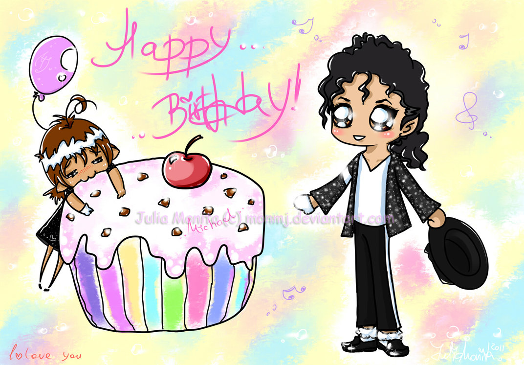 Happy Birthday dear Michael by MonMJ on DeviantArt.