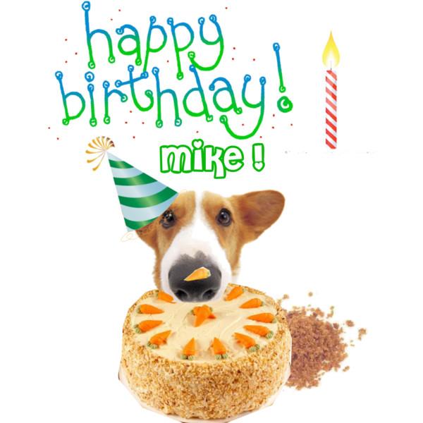 Happy Birthday Michael Clipart.