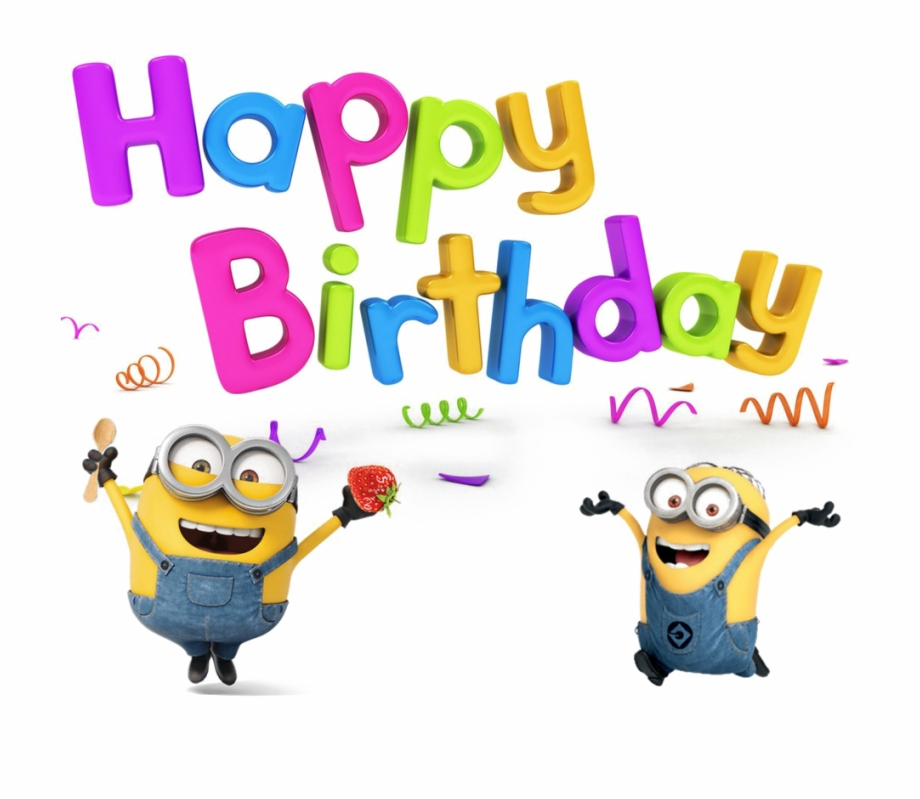 Free Minion Birthday Png, Download Free Clip Art, Free Clip.