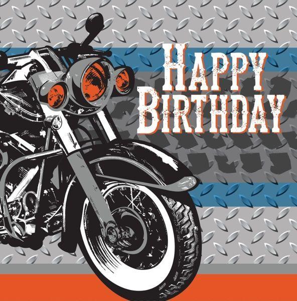 HAPPY BIRTHDAY MOTORCYCLE.