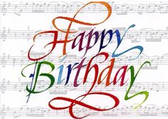Pin by Raquel Cristal on Happy Birthay Music.