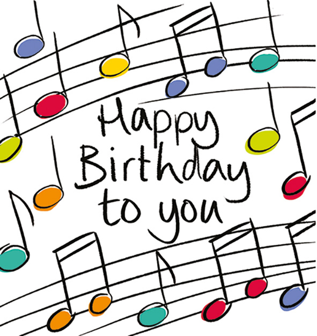 Happy Birthday Musical Notes Clip Art 10 Free Cliparts