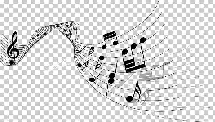 Musical Note Drawing PNG, Clipart, Angle, Black And White.