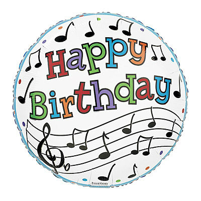 Notes For Happy Birthday Clipart.