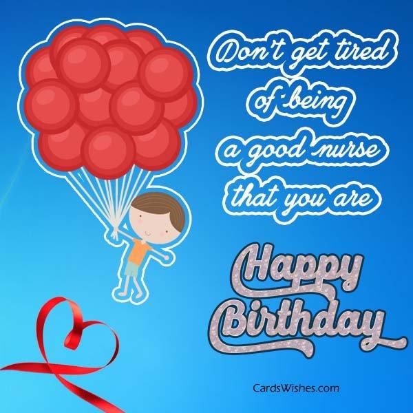 Birthday Wishes for Nurse.