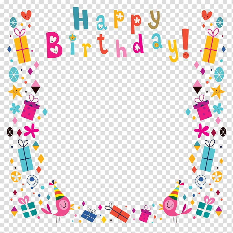 Birthday Greeting card , Happy Birthday poster background.