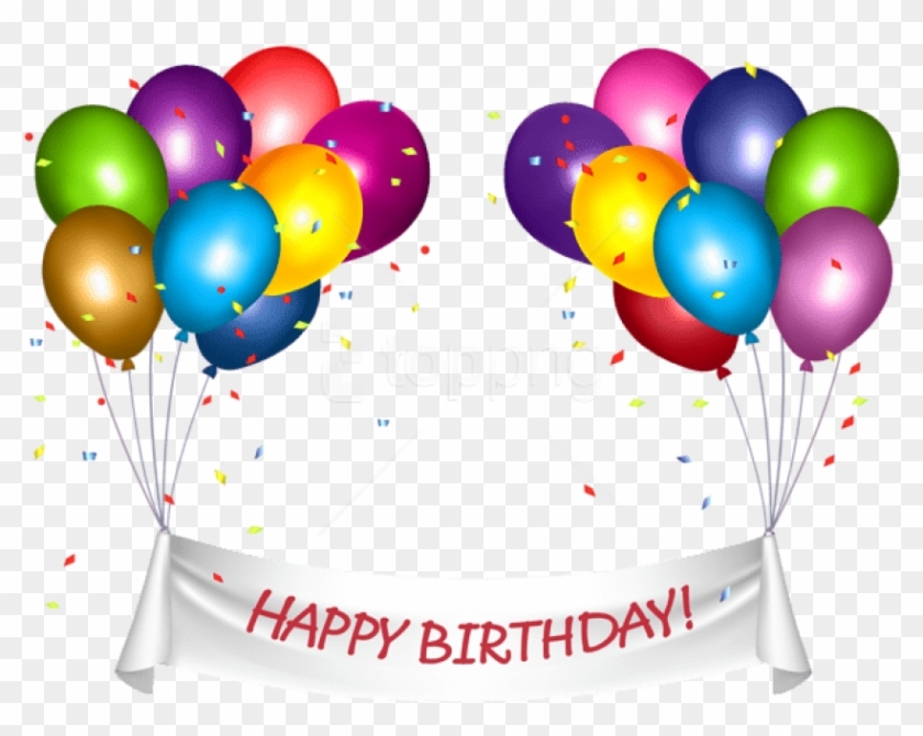 Free Png Download Transparent Happy Birthday Banner.