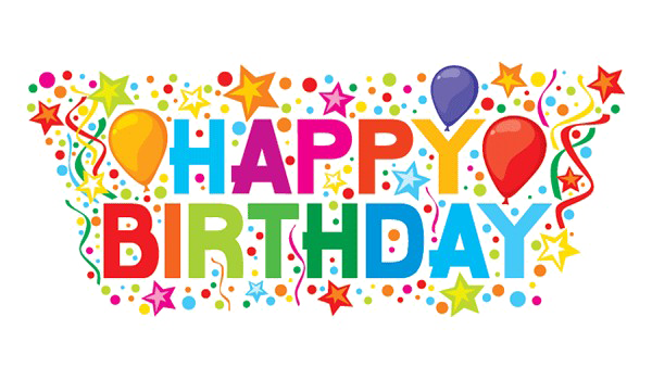 Happy Birthday PNG Transparent Images, Pictures, Photos.