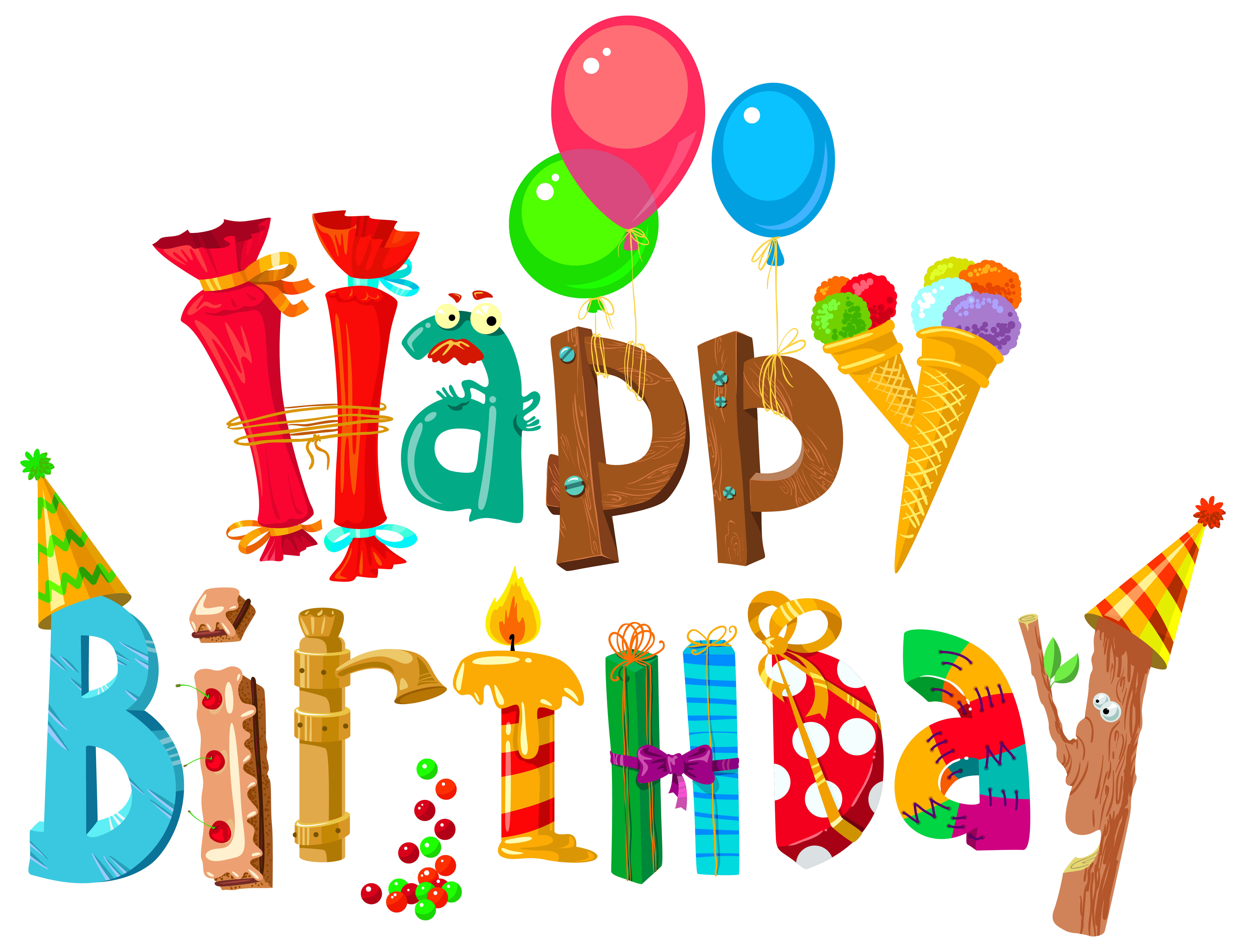 Clipart For Happy Birthday & For Happy Birthday Clip Art Images.