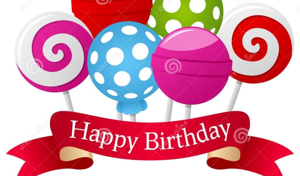 Happy Birthday Ribbon Clipart.