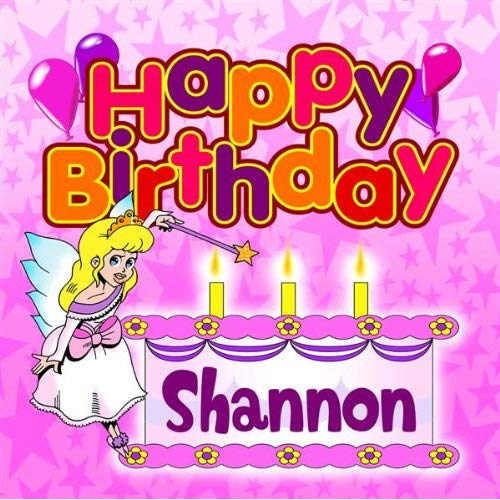 Happy Birthday Shannon by The Birthday Bunch on Amazon Music.