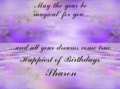 Happy Birthday Sharon Clipart.