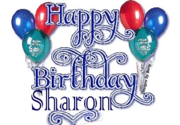 happy birthday sharon clipart #5