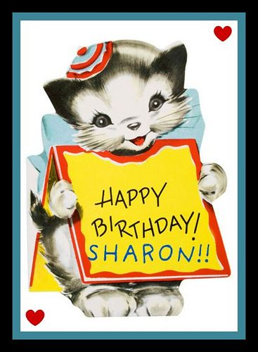 Happy Birthday Sharon Clipart Clipground