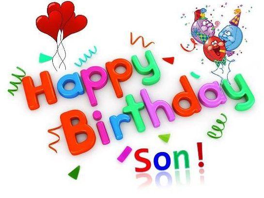 Happy Birthday Son Images Free.