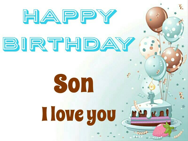 Happy Birthday Son Clipart Group with 81+ items.