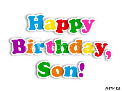Happy birthday son clipart 7 » Clipart Station.