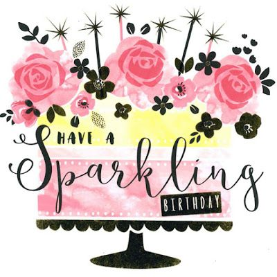 Have a Sparkling Birthday.
