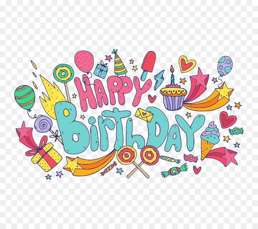 Happy Birthday To You png download.