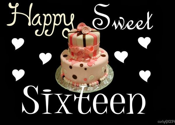 sweet 16 birthday wishes quotes.