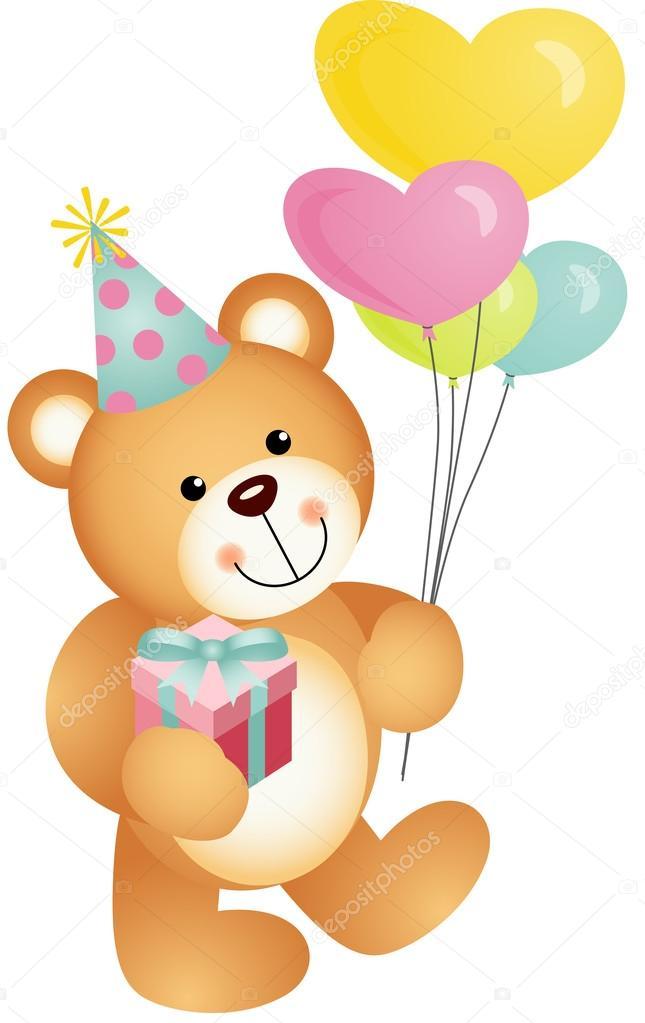 Teddy Bear Birthday Cake Images