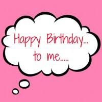 Image result for happy birthday to me clipart.