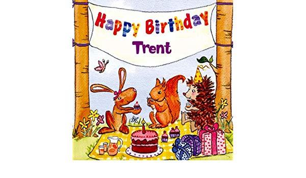 Happy Birthday Trent by The Birthday Bunch on Amazon Music.